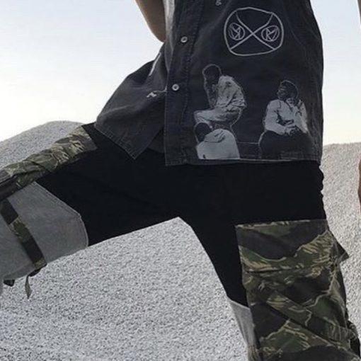 cargo pantalones number nine