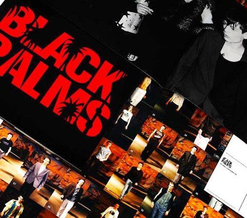 Raf Simons SS 98 black palms historia diseñador grafico Franky Claeys