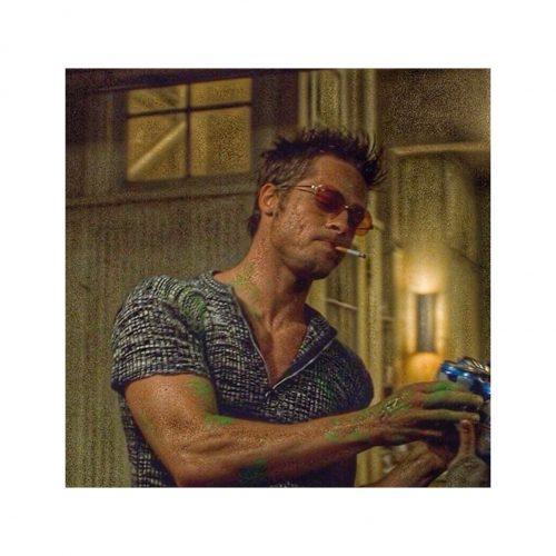Estilismo Brad Pitt club de la lucha