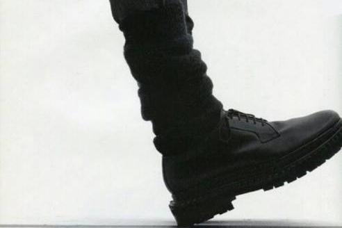 Raf Simons AW2008-2009 double sole dress shoes