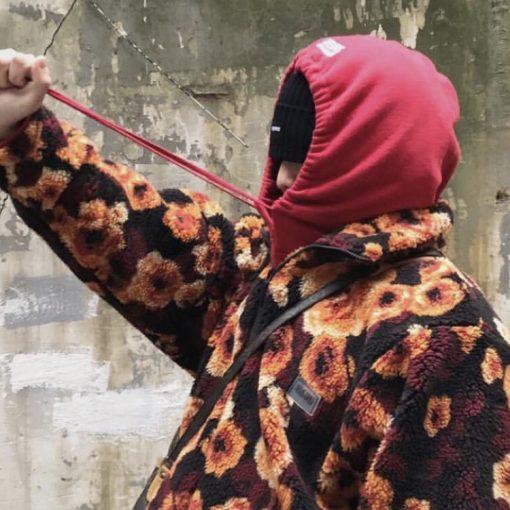 Martine Rose fleece roses jacket
