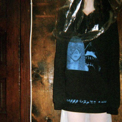 raf simons consumed hoodie