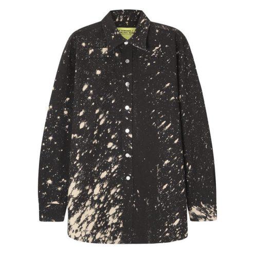 Raf Simons x Sterling Ruby FW14 splattered paint shirt