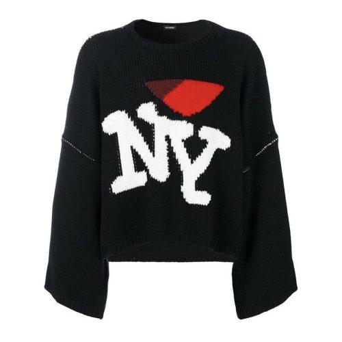 Raf Simons FW 17 I love NY black sweater