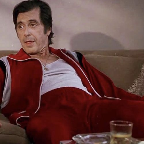 Al Pacino in Donnie Brasco wearing a tracksuit