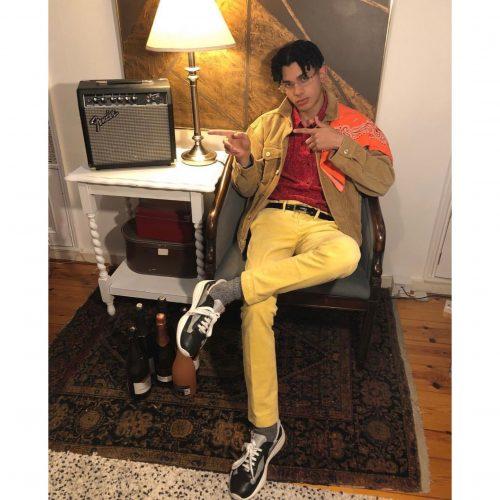 Jimothy Lacoste wearing Prada America´s cup