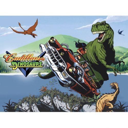"""Cadillacs and Dinosaurs"" arcade Capcom game 1992"