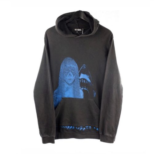Raf Simons SS 03 Consumed blue hoodie