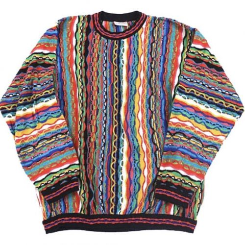 the history of the coogi sweater