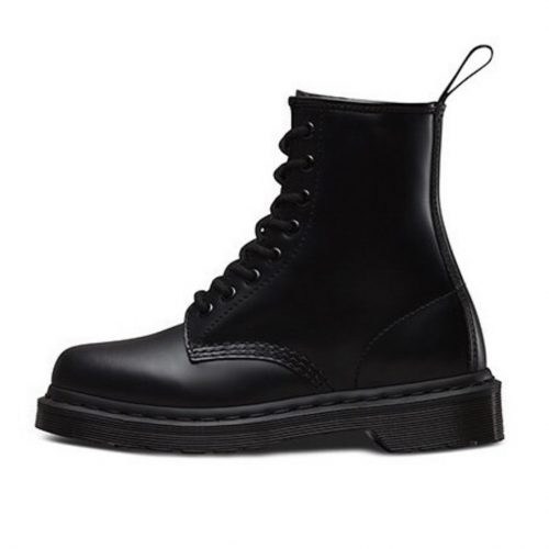 1460 mono black dr.martens boots army