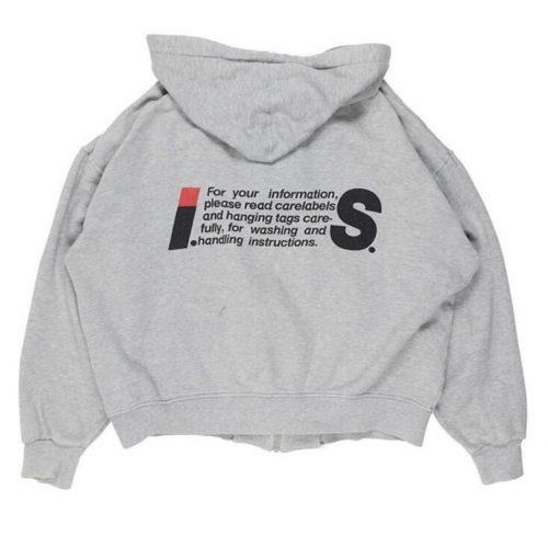 issey sport tsumori chisato miyake grey hoodie
