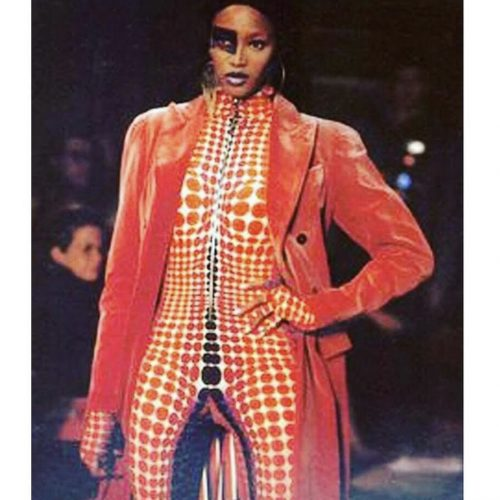gaultier cyber dots mad max FW 95 collection