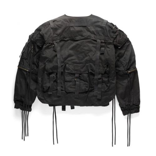 Raf Simons parachute bomber consumed SS 03