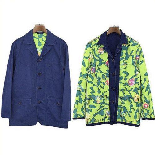 murakami issey reversible blazer 2000