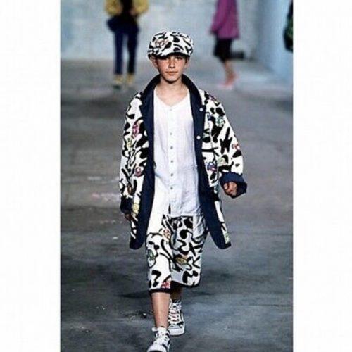 wearing murakami issey reversible 2000