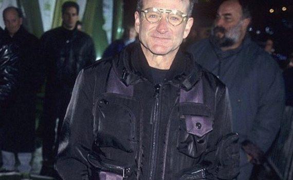 Robin Williams Issey Miyake bomber AW 96