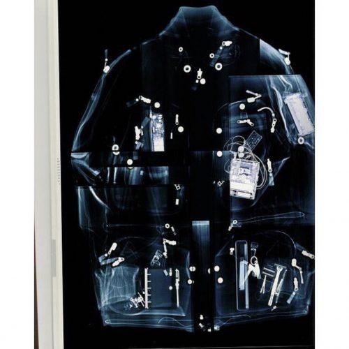 Issey Miyake 2000 bomber jacket