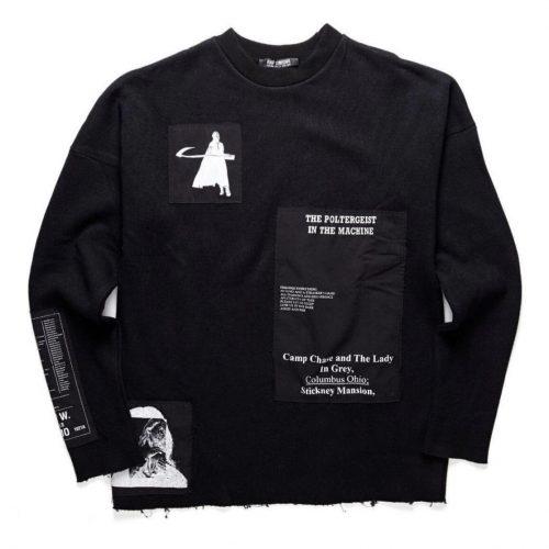 Raf simons AW 05 poltergeist sweater crewneck