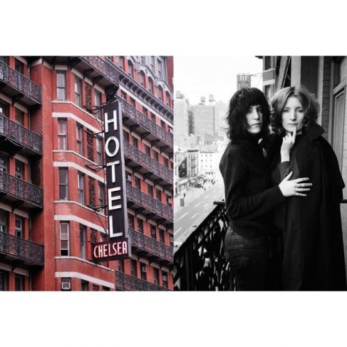 Chelsea hotel Just Kids Patti Robert styling