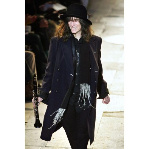 Just Kids Patti runway ann demeulemeester Robert styling