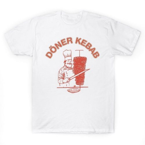 Doner kebab advertising t shirt