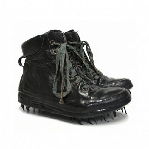 Carol christian poell black drip sneakers shoes