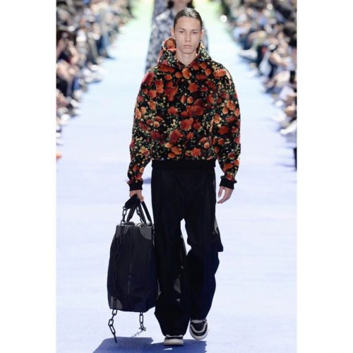 Louis vuitton virgil jacket roses