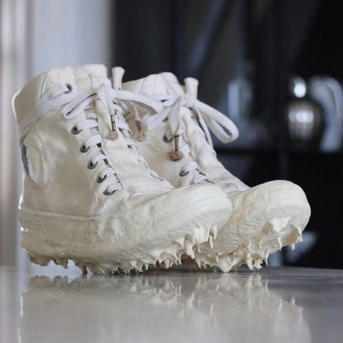 Carol christian poell white drip sneakers shoes
