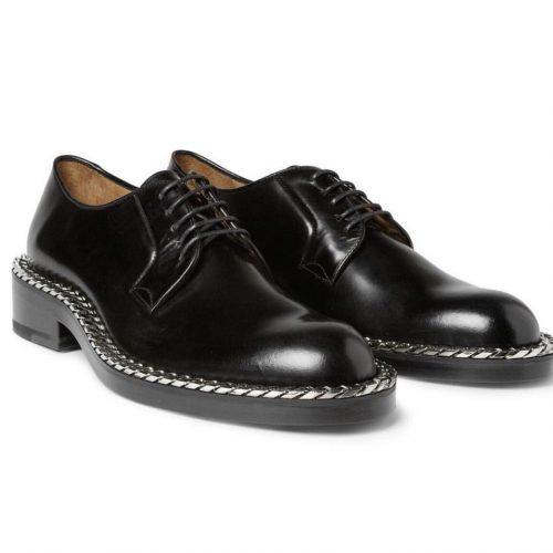 raf simons chain derby shoes