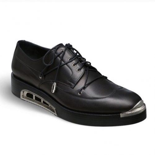 dior metalic derby shoes asap rocky