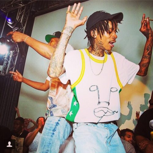 wizkhalifa wearing asspizza