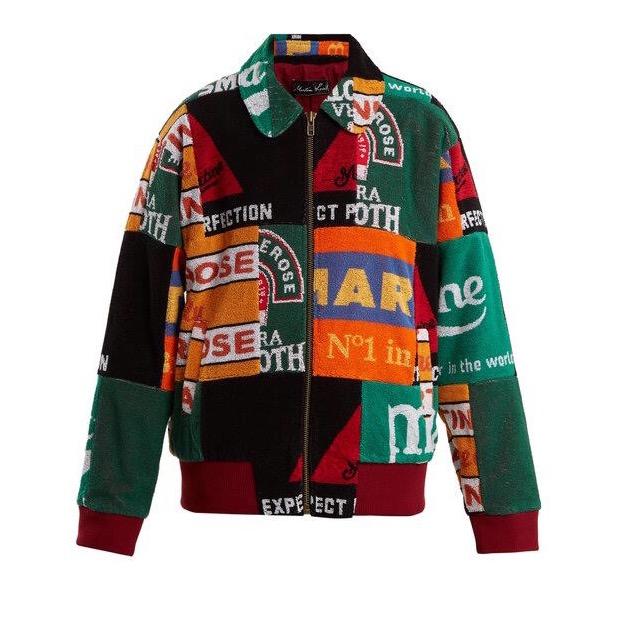 Martine Rose history story beer mat jacket