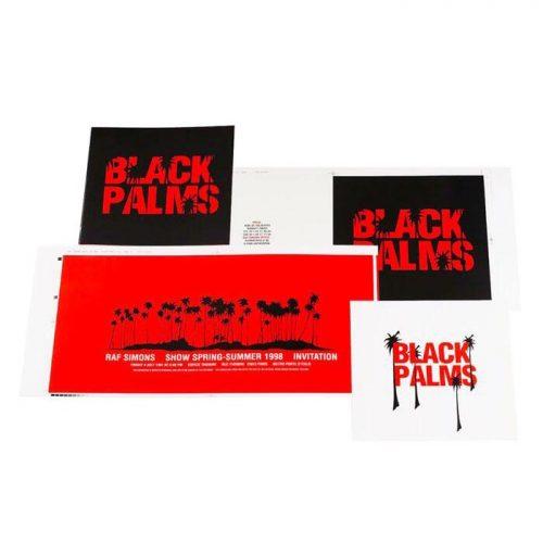 Franky Claeys Raf Simons ss 98 graphics designer