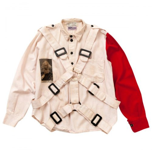 Bondage trend punk vivienne westwood jacket