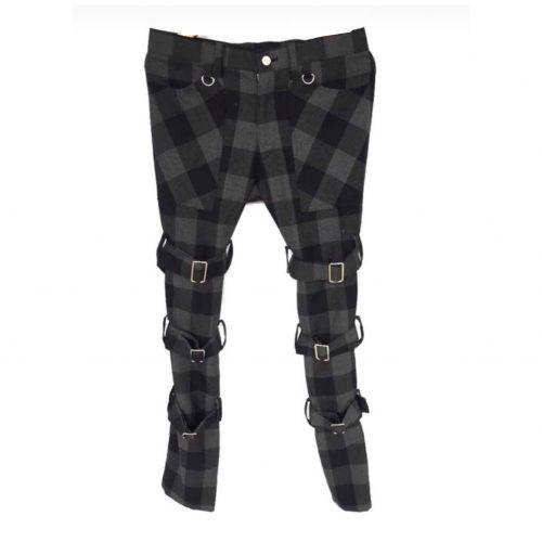 Bondage trend punk vivienne westwood pants