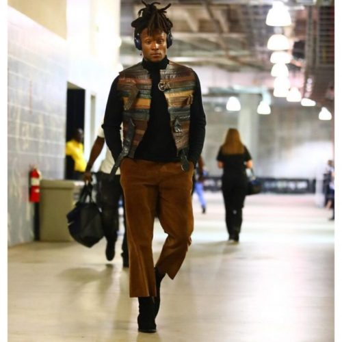 margiela belt jacket Deandre hopkins