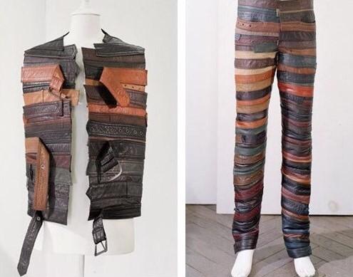 Garments reporpused belts margiela orta young thug