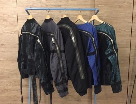 Asap Rocky Dries Bomber Jacket zipper story