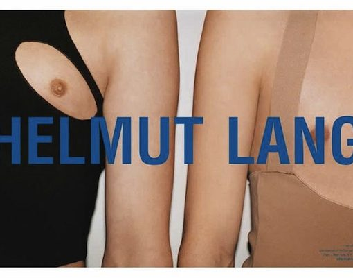 iconic fashion ads campaigns helmut lang juergen teller