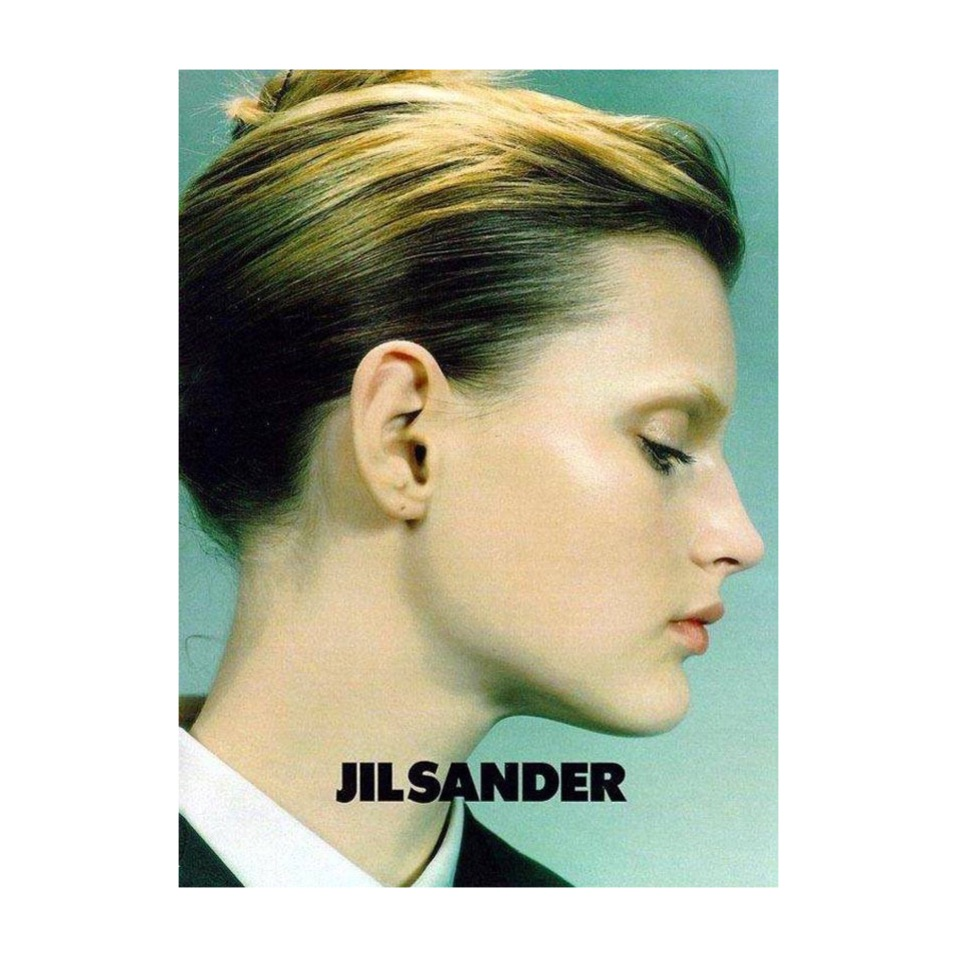 iconic fashion ads campaigns jil sander